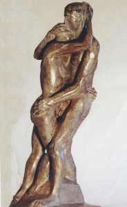 D4 - Christiane Darzacq - Couple - h54x20x14 Site