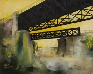 Latrace 1 - Pont d'Issy - 100x81 Site