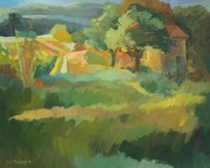 M12 - Carole de Montigny - Cabane dans les vignes - 81x65 Site