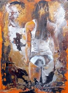 N2 - Virginie Negre - La jeune fille au miroir - 130x97 Site