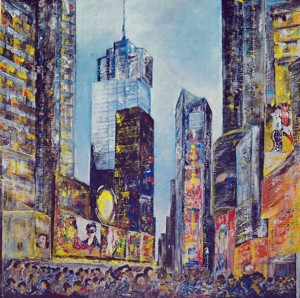 P4 - Charles Marie Picard - Times Square - 80x80 Site