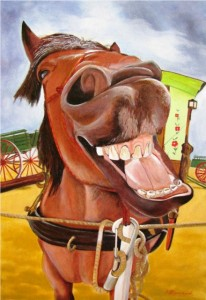 Ligoureaud 3 - Le cheval qui rit Site