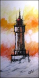 Duriot 2 - Phare de la jument - 80x40