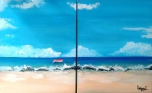 Liegey 2 - Barque à la dérive - 2x24x30