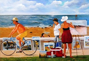 Ligoureaud 3 - Peintre en bord de mer-50P