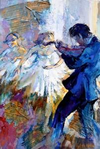 Pastore 1 - Violon et ballerines - 100x150