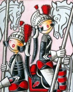 Mirota Roberjot---Le-quadrille-des-lances---h100x80