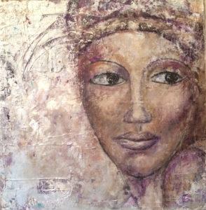 Vincent K - La Femme - 50x50