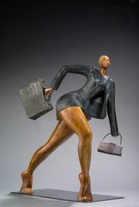 Abraham - VOYAGE VOYAGE bronze 78_60_52cm Web