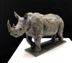 Carabantès 3 - Rhinoceros blanc h19x11x32 Web
