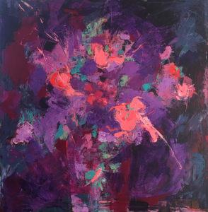 Claire de Lune 1 (Svirmickas) - Bouquet - 90x90
