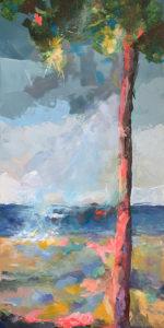 Claire de Lune 2 (Svirmickas) - Mon rivage - 80x40