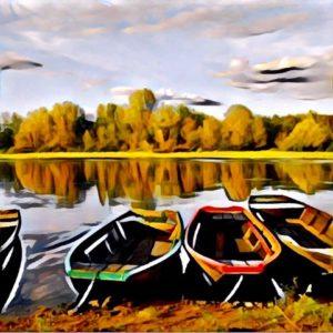 D'Haeyé 2 - Barques de Loire 80x80