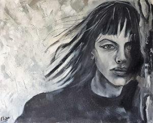 Elisa 1 Bis(Zelaci) - Jamais - 65x81