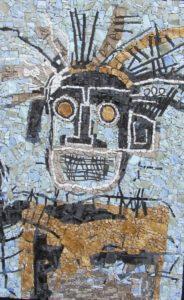 Foucher E 2 - Graff d'après Basquiat - 60x40
