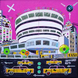 Lovisa 1 - Guggenheim Bis - 100x100