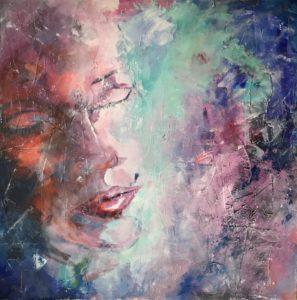 Vincent 2 - Haut en couleur - 100x100