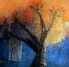 Tande 2 (Glatti) - Dancing tree Bis - 80x80
