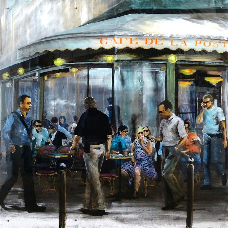 Cafe de la Poste - 100x100